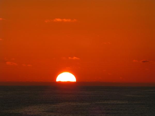 sunset: sunset at sea