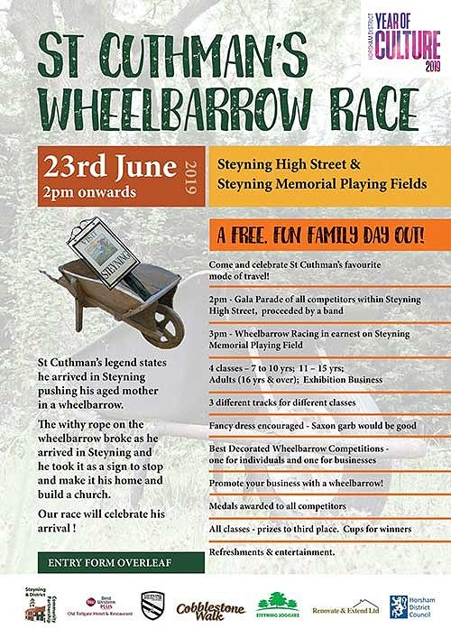 steyning wheelbarrows set to