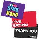 """Enter for a chance to win a $200 Gift Card to Live Nation and a copy of the card game """"Sing That Word""""! (07/26/2019) {??}"""