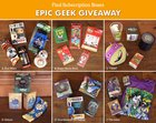 3 Winners-Win Your Choice of Epic Geek Prize Pack! (Star Wars,Super Mario Bros,Guardians of the Galaxy,The Joker,Fallout OR TMNT). (07/21) {US}
