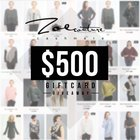 Zoe Couture $500 Gift Card Giveaway {US} (11/27/2018)