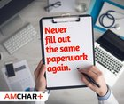 Tired of filling up the same paperwork over and over again every time you visit a doctor? Click here: www.amchart.io