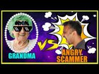 Grandma Calls Indian Scammer & Gets Angry