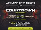 Countdown NYE! Win Tickets to Deadmau5/Porter Robinson and $250 credit to iHeartRaves.com! (11/17/2017) {US}