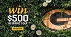 $500 Spring Sweepstakes enter daily (04/15/2018) {??}