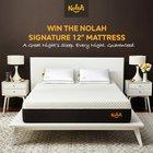 "Win a brand new Nolah Signature 12"" Mattress worth almost $1500 {US} (07/22/2019)"
