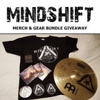 Mindshift band gear & merch bundle giveaway - 3 prizes including autographed guitar pedal, crash cymbal, and more (07/07/2017) {US}