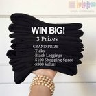 LuLaRoe #1 Win a pair of Tieks, Black Leggings + $100 Shopping Spree ($300), a Michael Kors Designer Bag Filled With Buttery Soft Leggings ($200) or a $100 Shopping Spree {WW} (7/6)