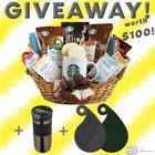 Arv $100 Gourmet coffee and paisley basket (11/13/2018) {US}