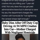 A difference in free market and government: Business fails to make your taco dinner tasty enough and goes out of business despite paying taxes and abiding by all regulatioms. Government Kills your baby, gets paid administrative leave by taxpayers and tries to charge the Mother with homicide