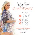 $250 Gift Card to Ruby Claire Boutique (5/29/16)