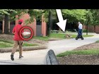 Pizza King Delivery Driver Drops Pizza (Prank!?)