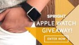 Win an Apple Watch from Spright (10/12/2015)