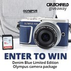 Win a limited edition Olympus PEN E-PL9 Kit arv $700 10/6 {US}