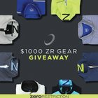 Win a $1,000 gift card for Zero Restriction apparel & gear {??} (5/31/17)