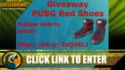 Win Red Hi-Top Trainers for PUBG {WW} (9/29/2017)