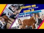 So this kid pranked his mom by bringing a horse, goat and strippers into his living room. This is messed up!