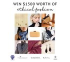 Enter to win $1500 in ethical fashion products! (11/27/2018) {??}