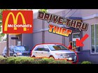 Stealing Food In McDonald's Drive Thru **PRANK**