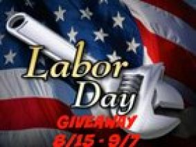 Labor Day Giveaway! 6 Winners! Ends 9/7!