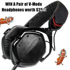 Win a pair of V-Moda Crossfade M100 Headphones {WW} (10/20/2018)