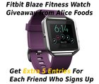 WIN a Fitbit Blaze Smart Watch
