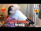 Baby Powder In Blow Dryer Prank On Wife   she got mad