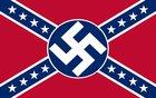 Parking lot fun! Make stickers, slap over confederate flags, watch batshit rednecks.