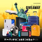 FR version (complementary to the others). Trip for 2 to New York City, 2x iPhone 11 Pro, Airpods, Apple Watch series 5, PlayStation 4 + FIFA 20 + Call of Duty, Nintendo Switch, GoPro Hero8 and more (12/01/2019) {EU UK MX AU CO}