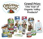 Win a year of Organic Valley products - 3 winners! (10/15)