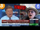 YIKES! Watch CNBC Anchor Joe Kernan SLAM Bitcoin Bull Mike Novogratz Bi…