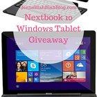 Nextbook 10 Windows Tablet Giveaway