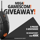 Win a SteelSeries Rival 310 + QCK, SteelSeries M500, SteelSeries Arctis 5 and many more (08/31) {DE AT CH}