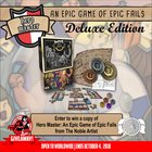 Win the board game Hero Master: An Epic Game of Epic Fails, Deluxe Edition (10/04/2018) {US CA EU AU CH}