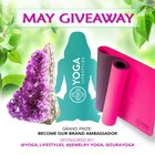 May Yoga Mat and Bracelets Giveaway. The contest ends 5/31/2016