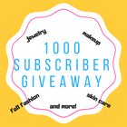 1000 Subscriber Giveaway ~ Win Makeup, Skin Care and Jewelry products! {WW} some exceptions (10/31/2018)