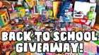 Win a MacBook Pro & a 2.5 Foot Tall Backpack stuffed with Back To School Supplies in Grav3yardgirl's Back To School Giveaway 2018 {??} (08/25/2018)
