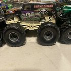Grave Digger Monster Jam 20th Anniversary Hot Wheels