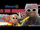 24 hour wallmart challenge (Vlog #2)