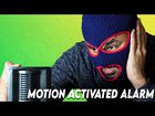 Simple yet Effective Motion Alarm that also send notification on intrusion