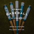 Win a Basball Pack! Includes 2 Bats, One Grand Slam Hoodie, Unisex T-shirt, Raglan and 2 Batter Up Pint Glasses {US} 3/26/20