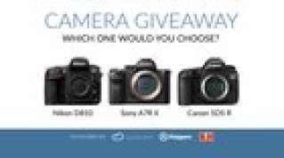 Camera Giveaway! Choice of Sony A7R II, Nikon D810, Canon 5Ds R (10/1/15)