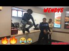 Got drunk at Wendy's then this happened...