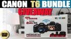 Win a Canon EOS Rebel T6 Camera Bundle {??} (7/11/17)