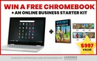 Win A Chrome Book And An Online Starter Kit Plus Get a Free Ticket To Legends 3.0 ARV $997 {??} (10/20/18)