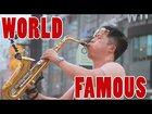 World Famous Saxophone Player | Street SAX Performance