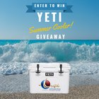 Win a Yeti Cooler and More {US} (08/25/2019)