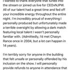 """Kenny Omega: """"Big thanks to all that made #CEOxNJPW possible, but I wanted to address a terrible oversight on my part, in depth, for all to read."""""""