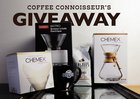 Win a Year's worth of Coffee, a 10 cup Chemex, a Bodum Bistro, a cheeky mug, and more!!! {US} (12/31/19)