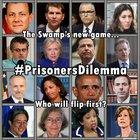 #PrisonersDilemma, Who Will Flip First?